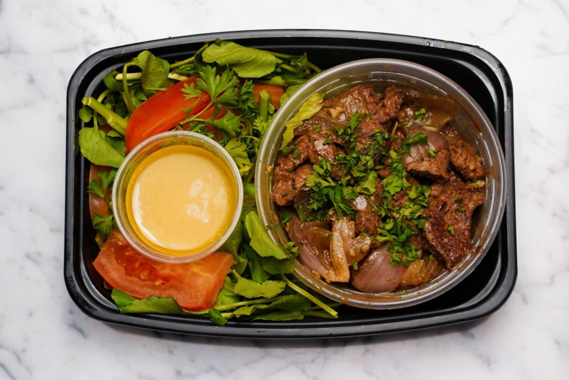 Vietnamese Shaken Beef.